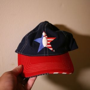 USBC Pin Star Flag Bill Hat
